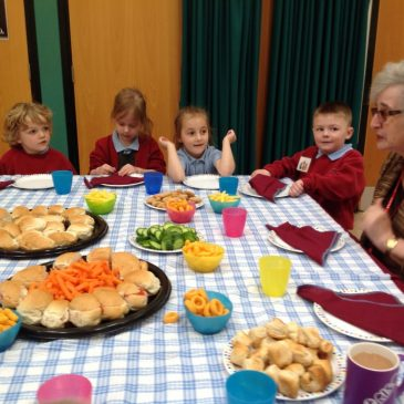 Headteacher's Tea Party