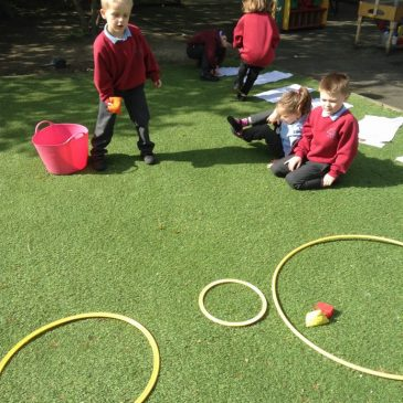 Maths outdoors