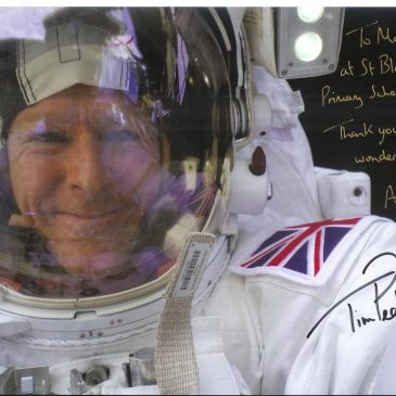 Letter from Tim Peake for Maple Class