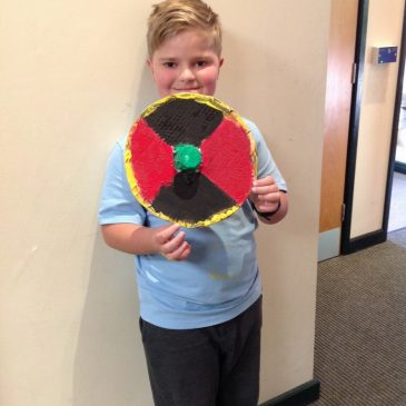 Viking Shields in Maple Class