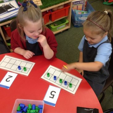More counting with Tens Frames