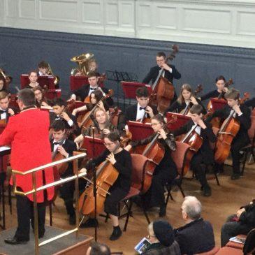 Schools Concert at Sheldonian Theatre – Maple Class