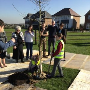 Redrow tree ceremony