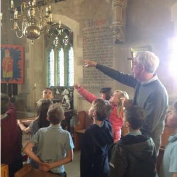 Y5 study day at St Blaise Church