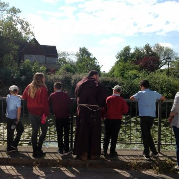 Maple Class visit to Abingdon Abbey
