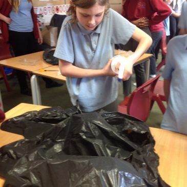 Creating rivers within the classroom – Maple Class