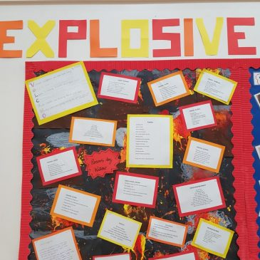 Volcano Poems By Willow Class