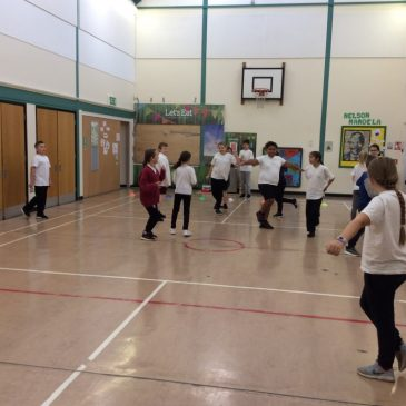 Fitness Testing in Maple Class