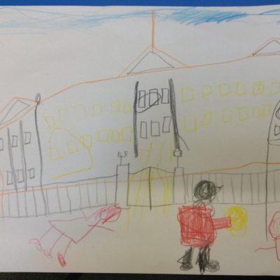 Buckingham Palace, by Aria