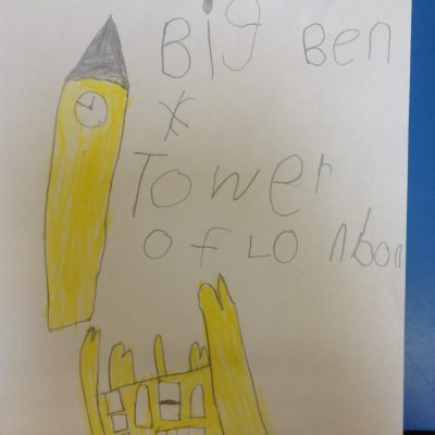 Big Ben and the Tower of London, by Grace