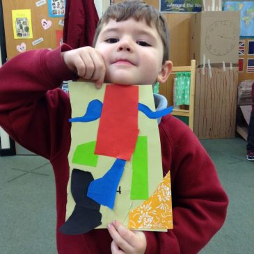 Collages inspired by Matisse