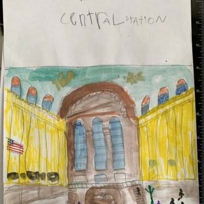 Snoee painted a brilliant picture of Grand Central.