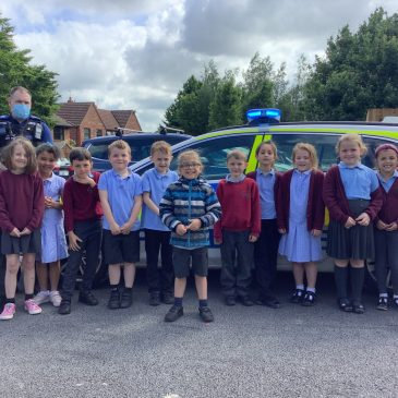 Visit from PC Tim